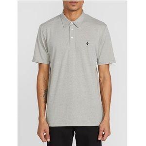 Volcom | Heather Grey Banger Polo Shirt V2 Size M